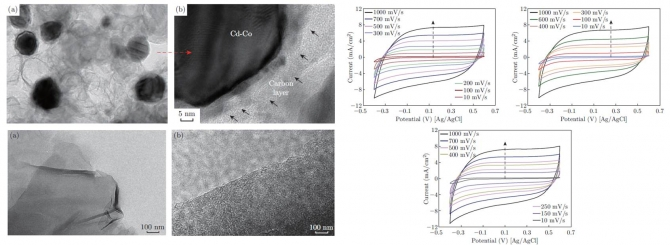 Development of Cd-doped Co Nanoparticles Encapsulated in Graphite Shell as Novel Electrode Material for the Capacitive Deionization Technology